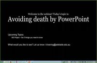 026052 - Avoiding Death by PowerPoint Webinar