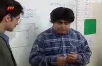 رضا شفیعی جم در کلاس تعیین سطح ریاضیات