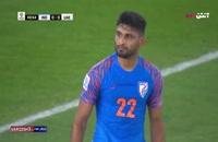 فیلم خلاصه بازی فوتبال امارات 2 - هند 0 جام ملت های آسیا 2019