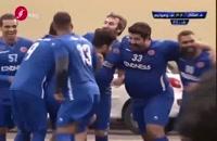 شادی گل خنده دار سیبیلو فوتبال،بهنام بانی تا درگیری خدادادعزیزی در بازی هنرمندان