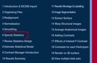 SPM Tutorial 06 - Statistics Specification