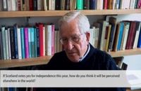Noam Chomsky on Scottish Independence 2014