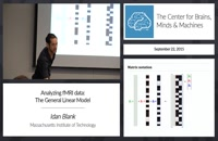 Lec 4 Analyzing fMRI data: The General Linear Model
