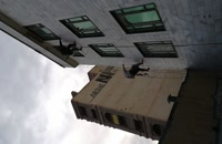 ترمیم نمای ساختمان با طناب و پیچ و رولپلاک اسیا راپل