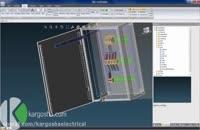 طراحی سه بعدی تابلو برق