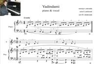 نت اصلی پیانو و آواز یادیندامی (yadindami)
