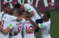 خلاصه بازی انگلیس 6 - پاناما 1  در جام جهانی 2018