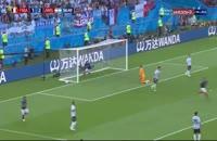 گل دوم فرانسه به آرژانتین با شوت پاوارد