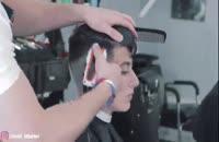 بسته آموزش کوتاهی انواع مدل موهای مردانه در 118file.com