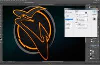 طراحی لوگو بی پایان در فتوشاپ