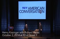 Henry Kissinger with Richard Haass on the Modern State 2014
