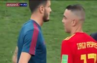 واکنش های هواداران پس از حذف تیم اسپانیا و صعود تیم روسیه