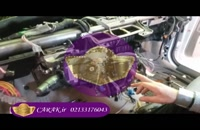 صداگیری خودرو پاژن لندرور در مرکز تخصصی کاراک
