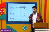 ریاضی نهم تدریس نامعادله و بازه از علی هاشمی