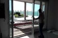درب و پنجره آکاردئونی