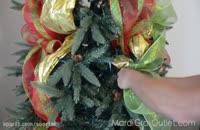 آموزش تزئین درخت