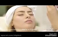 فیلم از سمانه پاکدل در آرایشگاه زنانه قبل از مراسم عروسی اش