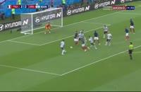 گل سوم فرانسه به آرژانتین امباپه