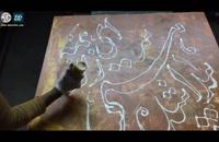 فروش تابلوهای نقاشی خط ، آموزش نقاشی خط ، احمد دیزرانی