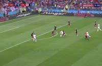 فیلم خلاصه بازی کرواسی 2 - انگلیس 1 جام جهانی 2018