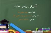 آموزش ریاضی هشتم فصل سوم