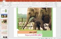 پاورپوینت زیست شناسی دوازدهم فصل سوم و چهارم