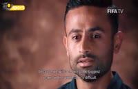 مصاحبه امید ابراهیمی با fifa قبل بازی ایران و اسپانیا