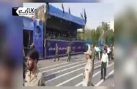 نخستین تصاویر از حمله تروریستی به رژه نیروهای مسلح در اهواز!