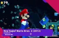 سیر تکاملی Super Mario Games از سال 1985 تا 2019