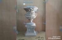 آباژور فایبرگلاس| مجسمه روشنایی برای دکور باغ و تالار| دکور محوطه| www.mojasameh.com | مجسمه فایبرگلاس