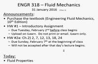 A019 - مکانیک سیالات (Fluid Mechanics)
