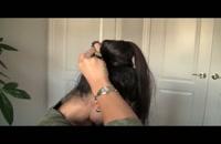 آموزش مرحله به مرحله اکستنشن مو با کراتین_09130919448.www.118file.com